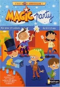 Magic Party, 6/12 ans : C'est mon anniversaire, kit pour 10 enfants