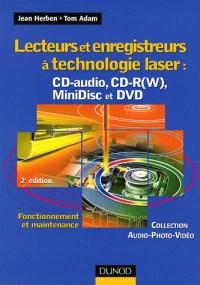 Lecteurs et enregistreurs à technologie laser