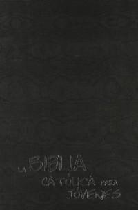 La Biblia Católica para Jóvenes: Confirmación - ed. azul - polipiel marfil - estampación plata