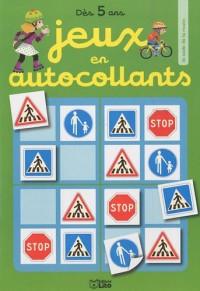 Jeux en autocollants : le code de la route