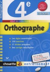 Orthographe 4e