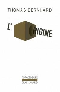 L'origine : Simple indication