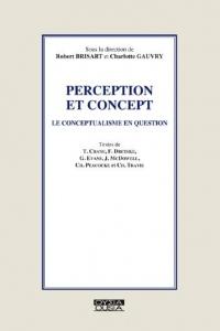 Perception et concept : Le conceptualisme en question
