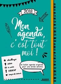 Agenda Bien-Être 2018  Mon Agenda, C'Est Tout Moi !