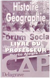 Histoire-Géographie, CAP (Manuel du professeur)
