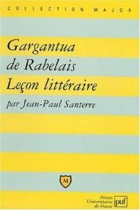 Gargantua de Rabelais : Leçon littéraire
