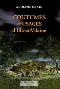 Coutumes et usages d'Ille-et-Vilaine