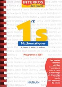 Mathematiques 1re s interros des lycées n20
