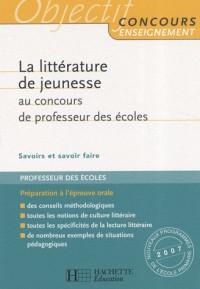La littérature de jeunesse au concours de professeur des écoles
