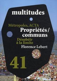 Multitudes n°41