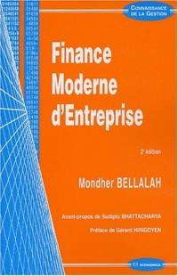 Finance moderne d'entreprise. : 2ème édition