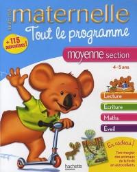 Tout le programme maternelle moyenne section : 4-5 ans