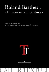 Roland Barthes : En sortant du cinéma