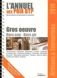 Bordereau de Prix BTP - Artisans et Entreprises - Gros oeuvre - Hors Eau - Hors Air