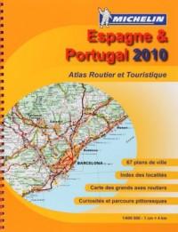 Espagne & Portugal : Atlas routier et touristique, 1/400 000
