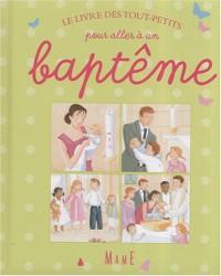 Le livre des tout-petits pour aller à un baptême