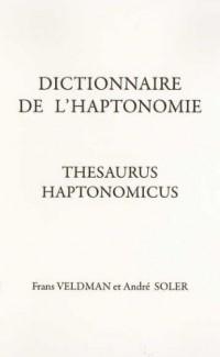 Dictionnaire de l'haptonomie : Thesaurus haptonomicus