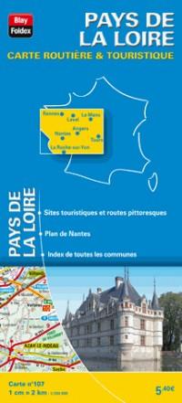 Pays de la Loire 2013 - Carte Routiere et Touristique Régionale (107) - 1/200 000