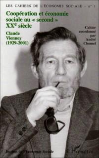 Les Cahiers de l'économie sociale, numéro 1 : Coopération et économie sociale au second XXéme siècle (1929-2001)