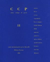 Cahier critique de poésie, N° 11, 2005 :
