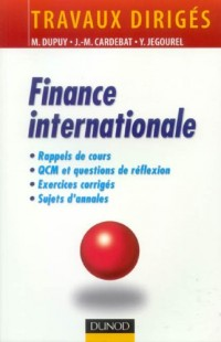 Finance internationale : Travaux dirigés