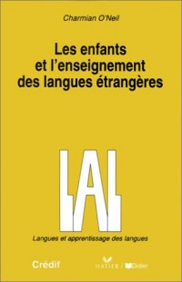 Les enfants et l'enseignement des langues étrangères