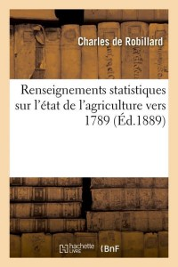 Renseignements statistiques 1789  ed 1889
