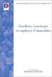 Gardiens, concierges et employés d'immeubles, édition 2003