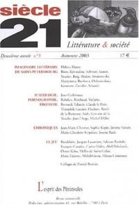 Siècle 21, N° 3 Automne 2003 :
