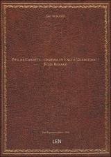 Poil deCarotte:comédieen 1 acte (2e édition) / Jules Renard [édition 1900]