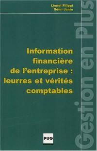 Information financière de l'entreprise : Leurres et vérités comptables