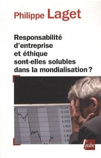 Responsabilité d'entreprise et éthique....