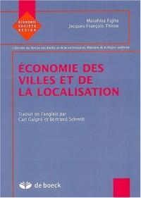 Economie des villes et de la localisation