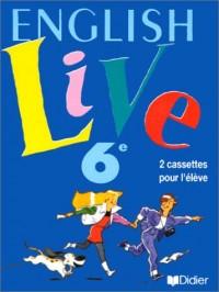 English Live : 6e LV1 (coffret 2 cassettes)