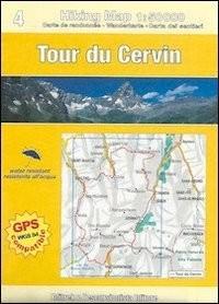 Tour du Cervin - Gran Balconata del Cervino 1:50.000- 1: 30.000 Topo Guides - Carte
