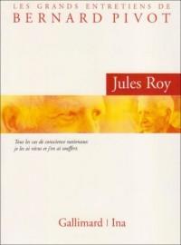 L'Entretien de Bernard Pivot avec Jules Roy (DVD)