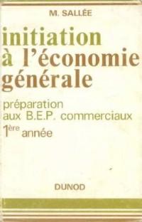 Initiation à l'économie générale