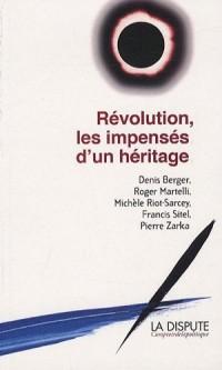 Révolution les impensés d'un héritage