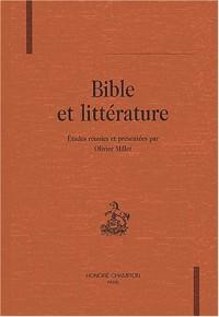 Bible et littérature