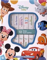 Ma première bibliothèque Disney baby : 12 livres cartonnés