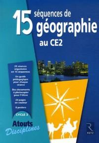 15 séquences de géographie au CE2