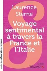Voyage sentimental à travers la France et l'Italie