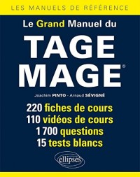 Le Grand Manuel du TAGE MAGE - 2e édition