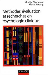 Méthodes, évaluation et recherche en psychologie clinique