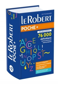 Dictionnaire Le Robert de poche plus 2019
