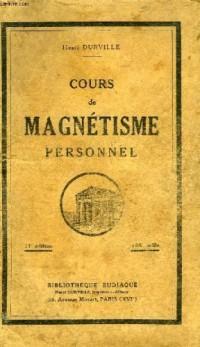 Cours de magnétisme personnel