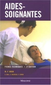 Aides-soignantes : Fiches techniques