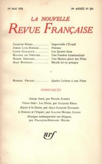 La N.R.F., numéro 209