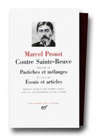 Proust : Contre Sainte-Beuve