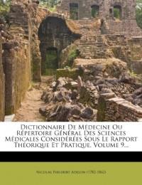 Dictionnaire De Médecine Ou Répertoire G